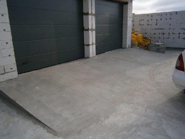 Бетон перед гаражом бетон высокая гора