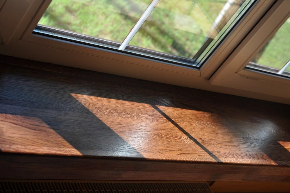 подоконники деревянный