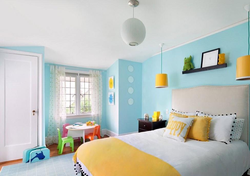Материалы для отделки потолка в детской