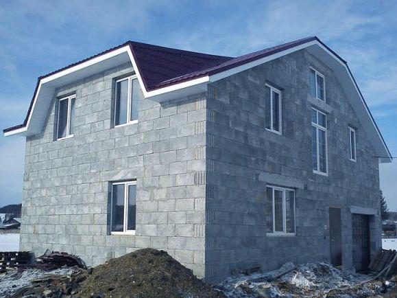 полистиролбетон дом