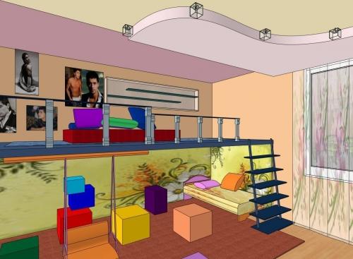 проект детской комнаты 2