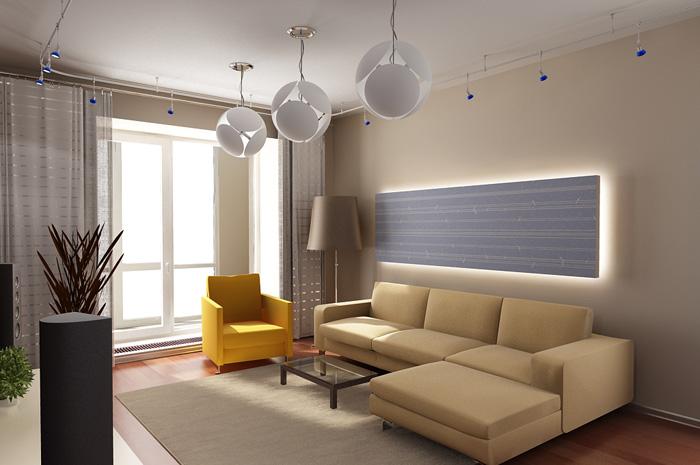 Этапы ремонта гостиной