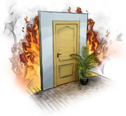 противопожарные входные двери 3