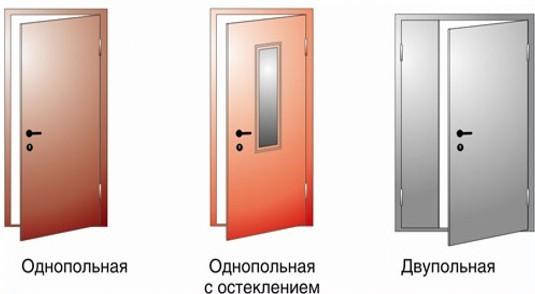 противопожарные входные двери 4