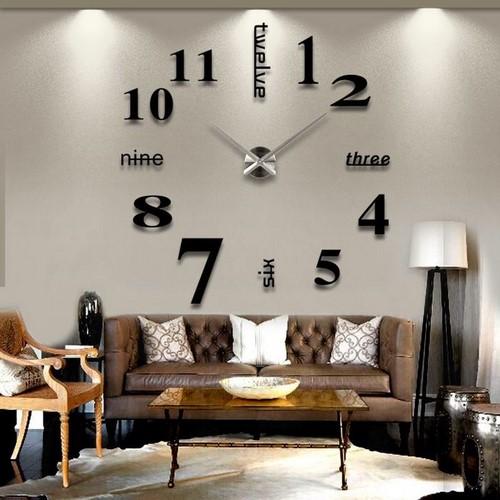Современные часы для декора стен