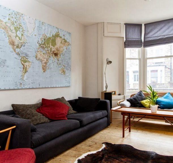 Используем карты для декорирования стен