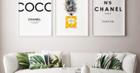 30 идей, как украсить пустую стену + фото