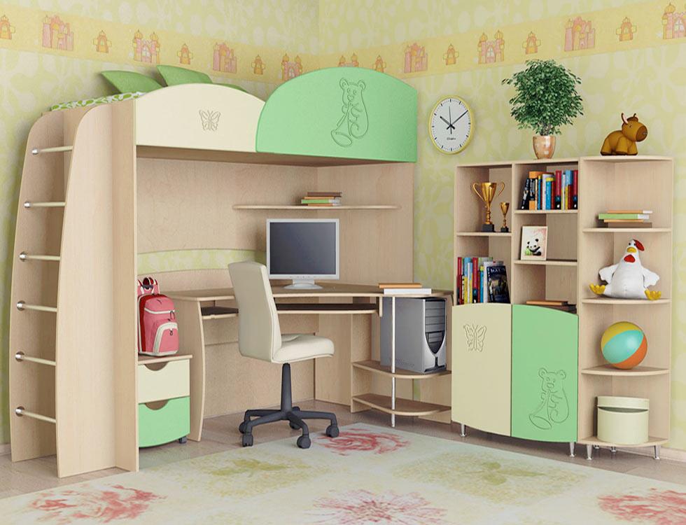 рабочий стол в детской 4