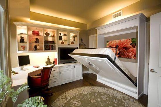 расположить мебель в маленькой спальне