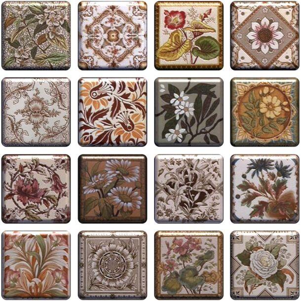 Керамическая плитка - большой выбор рисунков