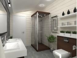 ремонт ванной комнаты проект 3