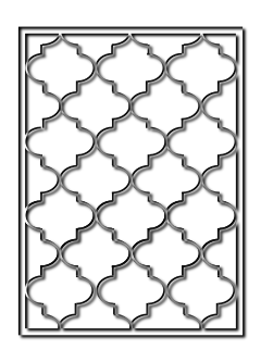 решетка из полосы