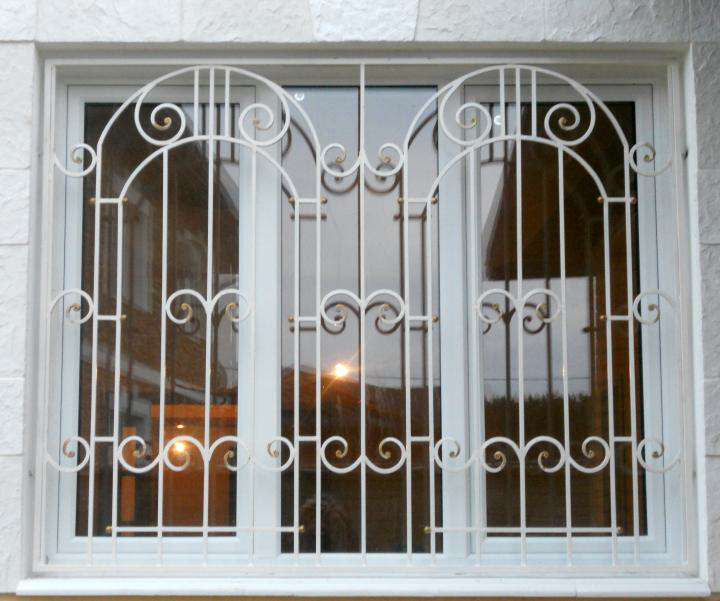 решетка на окна окрашивание