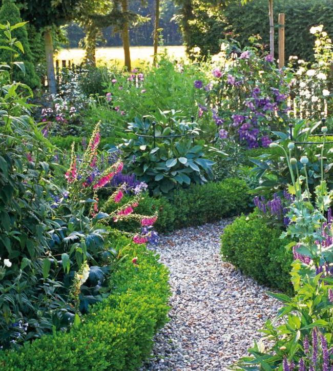 садовая дорожка насыпная 2