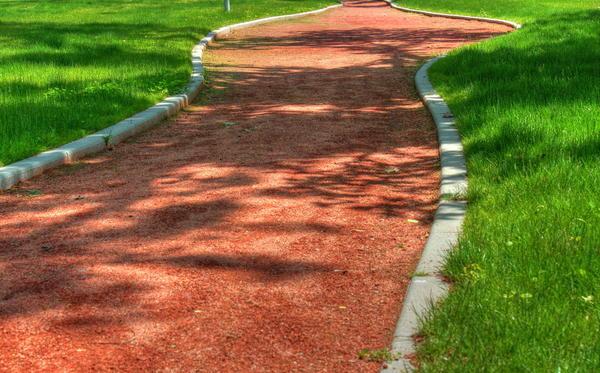 садовая дорожка теннисит
