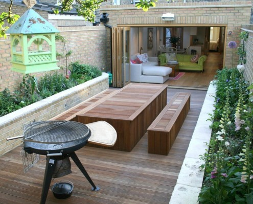 садовая мебель дерево 3