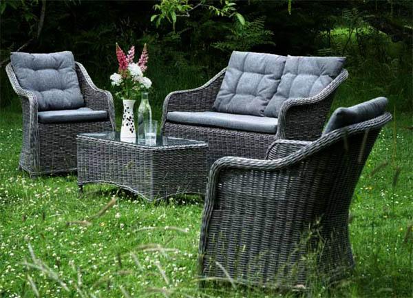 садовая мебель искусственный ротанг 2