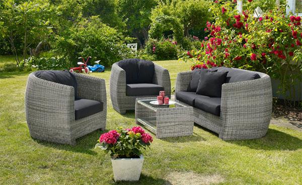 садовая мебель искусственный ротанг