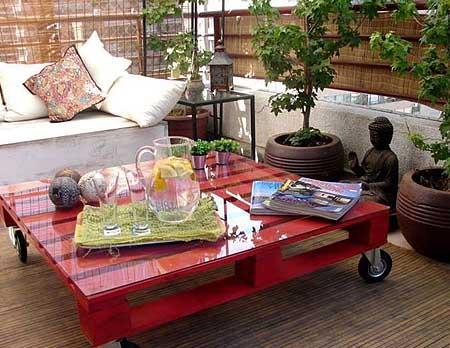 садовая мебель из поддонов 2