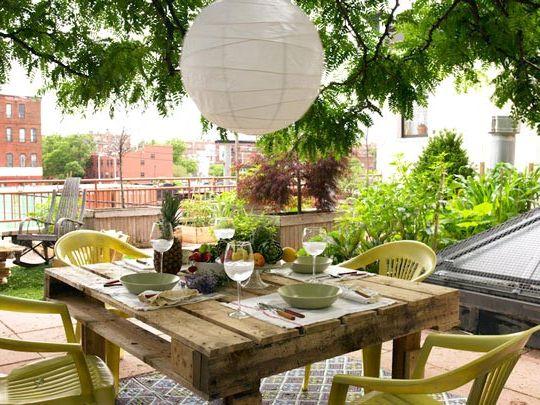 садовая мебель из поддонов 3