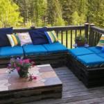 садовая мебель из поддонов 5