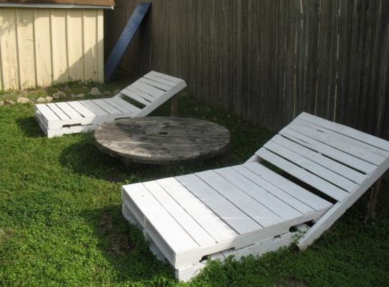 садовая мебель из поддонов 6