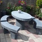 садовая мебель камень