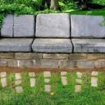 садовая мебель камень 4