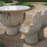 садовая мебель камень 5