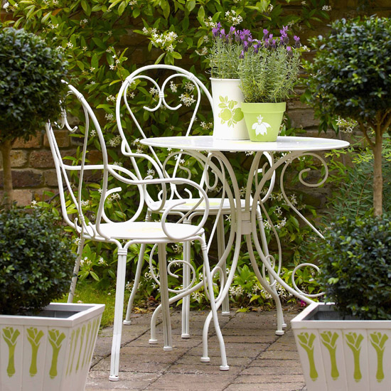 садовая мебель металлическая 2