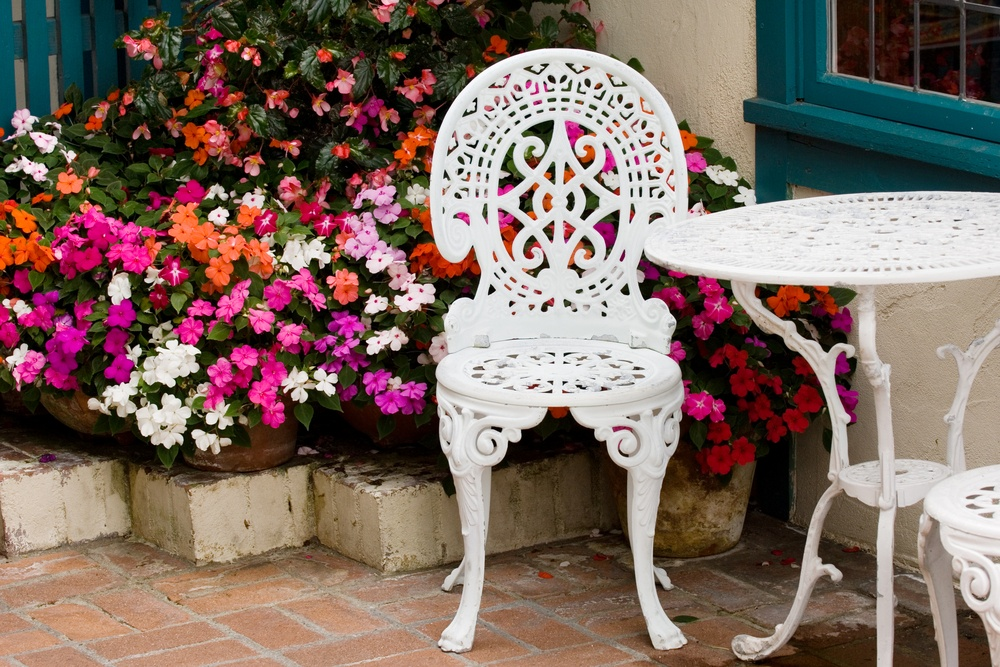 садовая мебель пластик