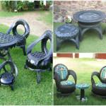 садовая мебель покрышки