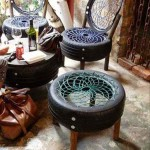 садовая мебель покрышки 3
