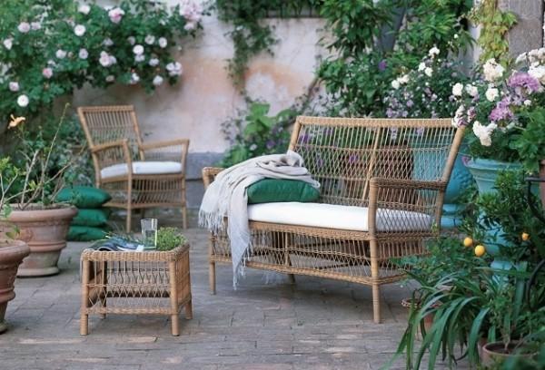 садовая мебель стиль