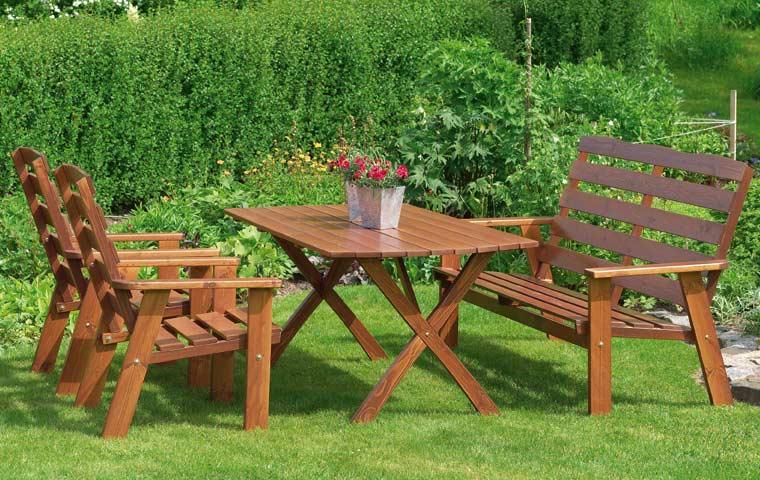 Садовая мебель: материал, размер, стиль