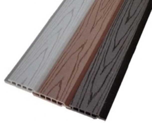 Сайдинг из древесно-полимерного композита (ДПК) для наружной отделки стен