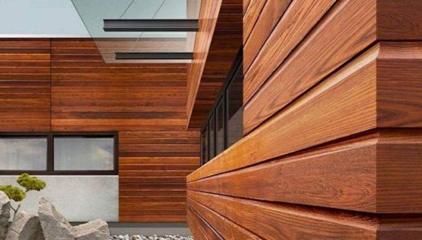 Виды деревянного сайдинга для наружной отделки стен зданий