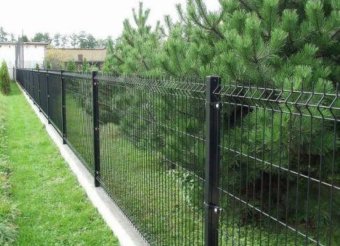 сетчатый забор для участка 2