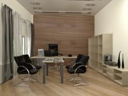 шторы в кабинет 7