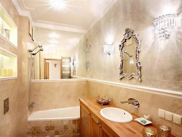 штукатурка для отделки стен ванной комнаты