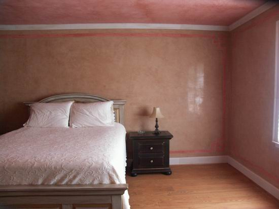 штукатурка для стен спальни