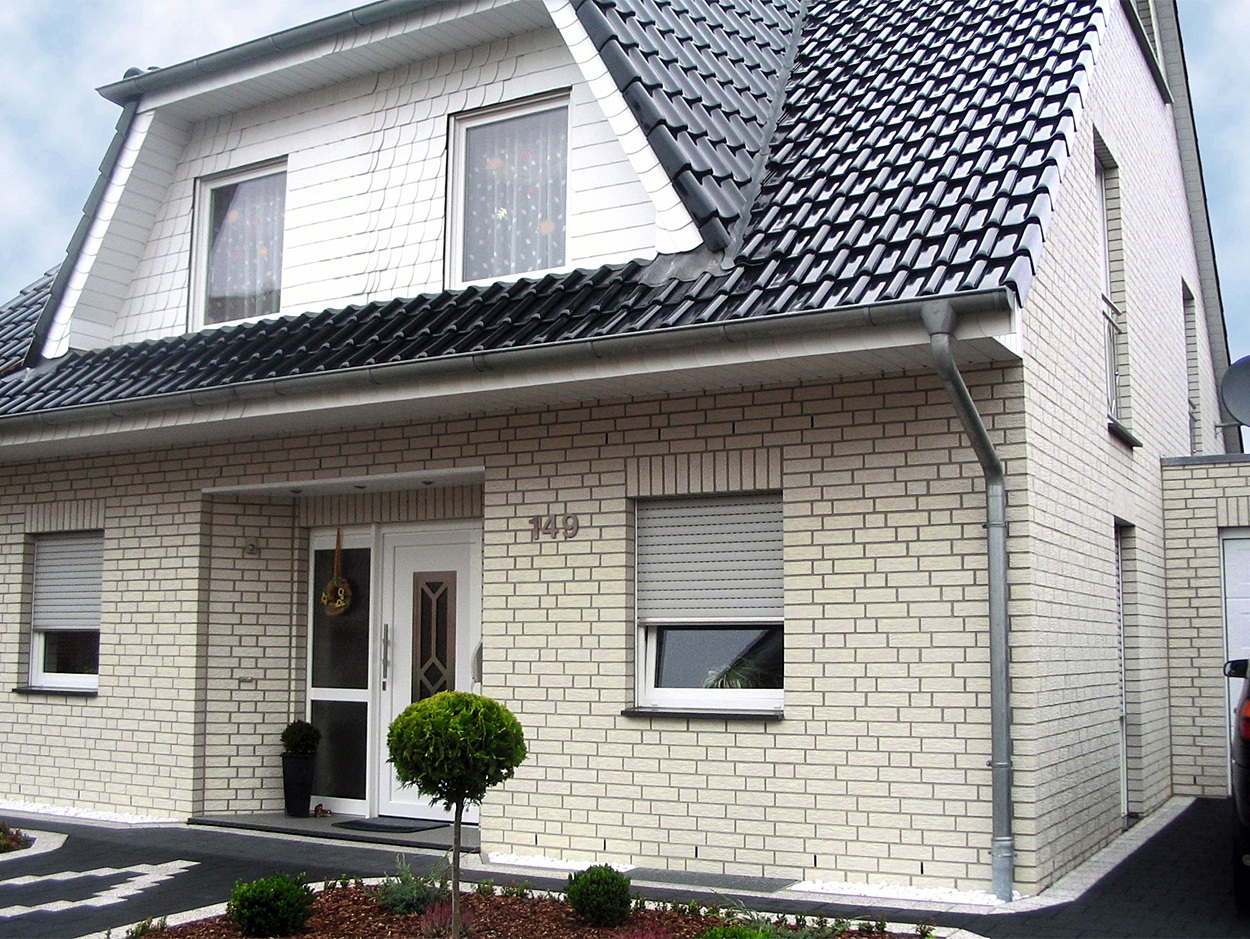 силикатный кирпич для фасада дома