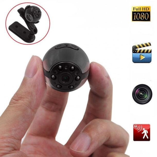скрытая камера с датчиком движения