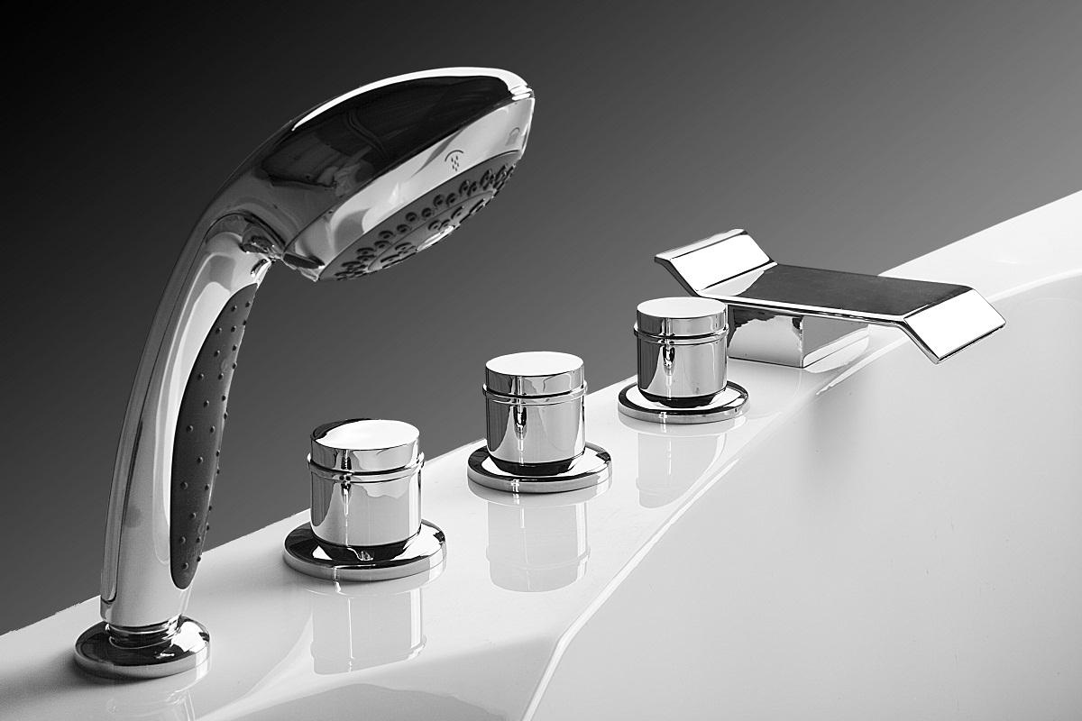 смеситель для ванны 3