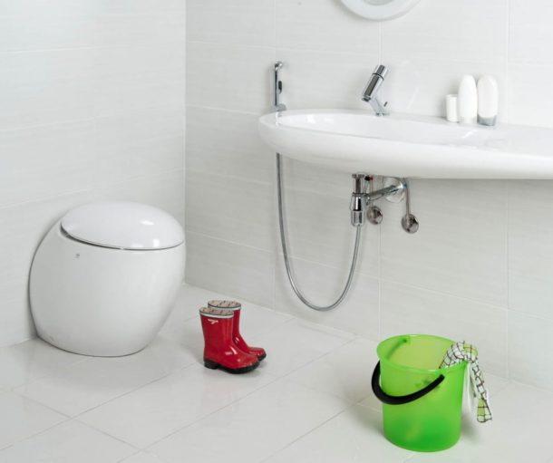 Гигиенический душ со смесителем на раковину