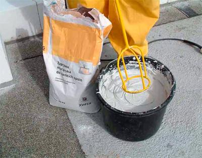 Выбор клея для газоблоков и пеноблоков