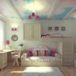 спальное место в детской 2