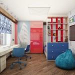 спальное место в детской 3
