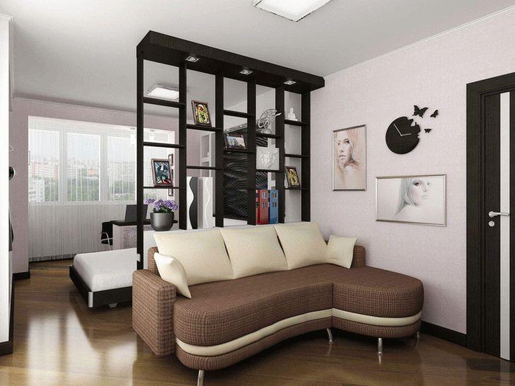 спальня сомещенная с гостиной 2