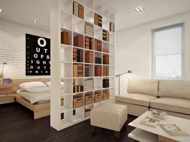 спальня сомещенная с гостиной 3